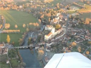 Le village de Bourdeilles