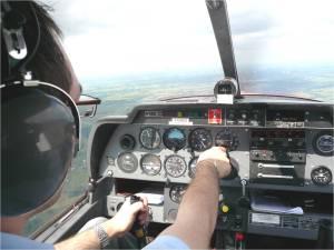 La première leçon de pilotage