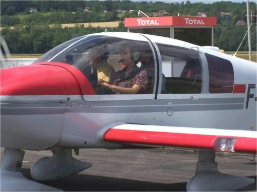 Dés votre premier vol, vous êtes en place pilote