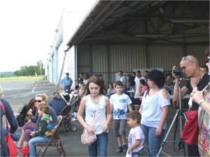 la foule des grands jours à l'aéroclub de périgueux