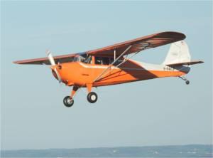 Vol en patrouille avec un aeronca