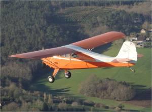 Vol en patrouille avec un aeroca