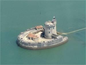 Fort Louvois sur l-estuaire de la Seudre