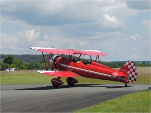 Le boeing Stearman au point d'arret 29