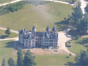 Chateau de l'étang de Saint Maigrin