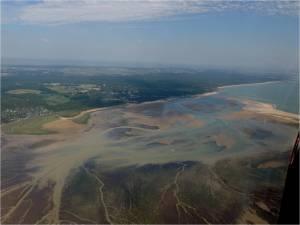 La baie Bonne Anse au nord de la Palmyre