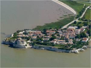 Talmont sur l'estuaire de la Gironde