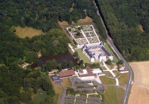 Chateau de Chamerolles au nord d'Orléans