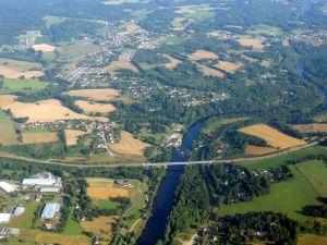 La Vienne à l'ouest de Limoges