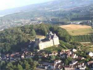 Le château de hautefort