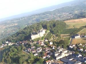 Le village de Hautefort avec son musée de la médecine