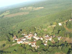Un village au retour vers Périgueux