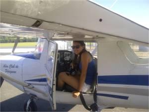 Ariane au retour de son premier vol seul à bord.