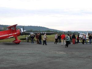 la visite des avions de collection