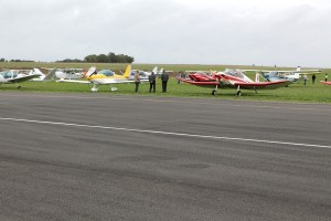 Un apercu du parking avions