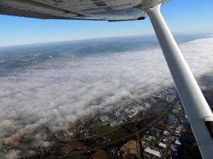 l'AD d'Agen quelque part sous les nuages