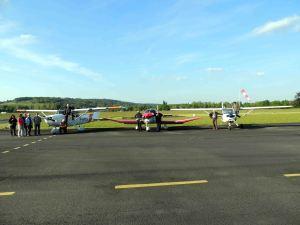 L'arrivée du Cessna 172