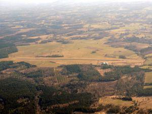 L'aérodrome d'Ussel