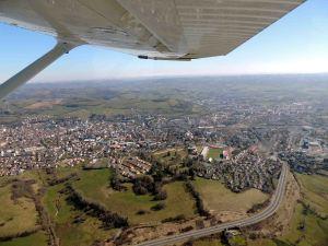 La ville d'Aurillac