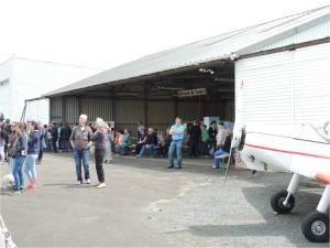 La foule des grands jours à l'aéroclub