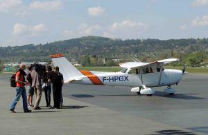 Le retour du vol de 3 élèves du BIA