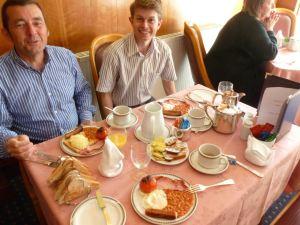 Le-breakfast-de-Jean-François et Gaël