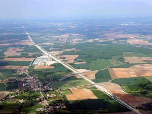 Le chantier de la ligne LGV - Bordeaux-Tours