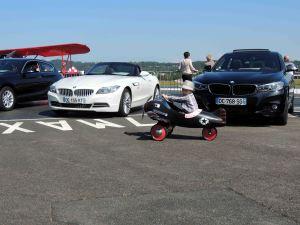 BMW et avion a pédales
