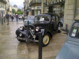 La voiture des années 40 - la traction