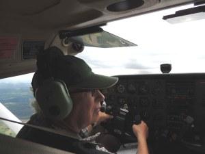 Bernard-le pilote du retour