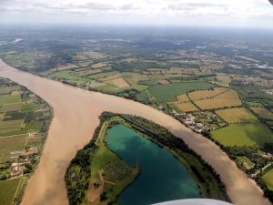 Ile de La-Lande-sur la Garonne