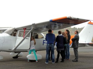 La visite des avions