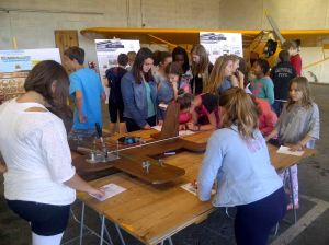 le 11 juin - journée CPA avec le collège Anne Frank
