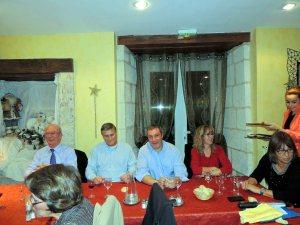 """le 12 décembre - repas de noel au restaurant """"La Palombière"""""""