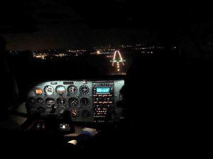 le 14 mars - vol de nuit
