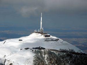 Après un 360 revoilà le sommet du Puy-de-Dôme