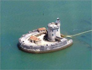 Fort Louvois sur l'estuaire de la Seudre