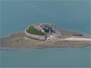 -Fort Enet à l'embouchure de la Charente