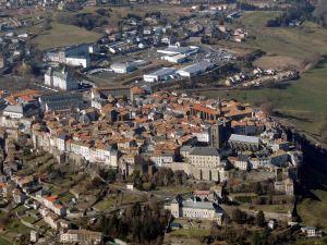 La ville de Saint-Flour