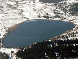 Un lac de montagne