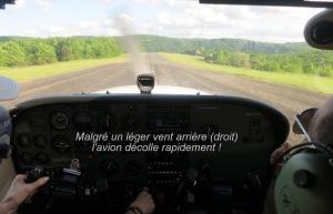 Le décollage
