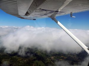 Vol retour au FL 65