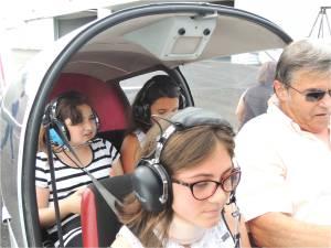 Un trio de filles de 6éme à bord du Robin