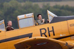 Un vol en T6 de Patrice
