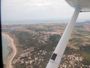 Direction le nord de l'île d'Oléron