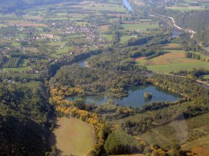 Les zones humides de la vallee de la Dordogne