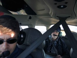 Mes 2 pilotes du retour