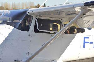 Embarquement à bord du Cessna 172