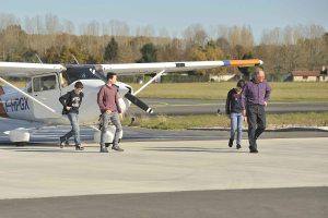 Retour de vol en Cessna 172