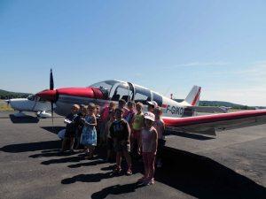 Une première les enfants de Bassillac participent aux activités du Centre Pédagogique Aéronautique
